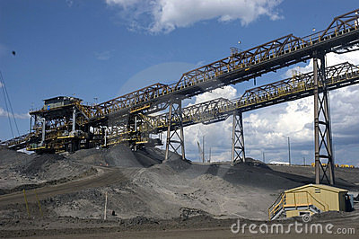 Alberta Oil Sands Editorial Stock Photo