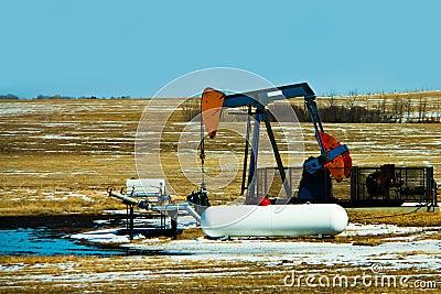 Alberta Oil Well