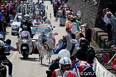 Alberto Contador Editorial Stock Photo