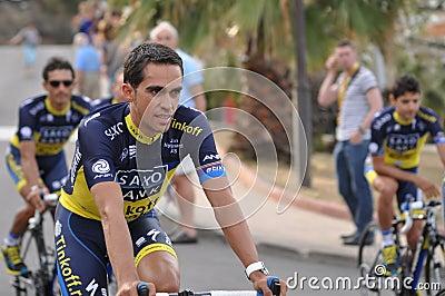 Alberto Contador, Tour de france 2013 Editorial Stock Photo