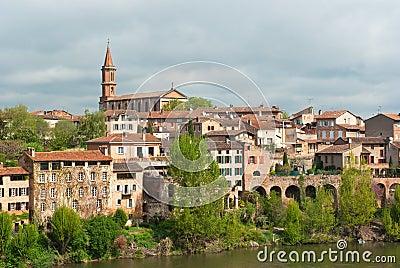 Albi cityscape