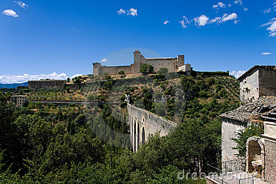 The Albornozian Castle and Ponte delle Torri