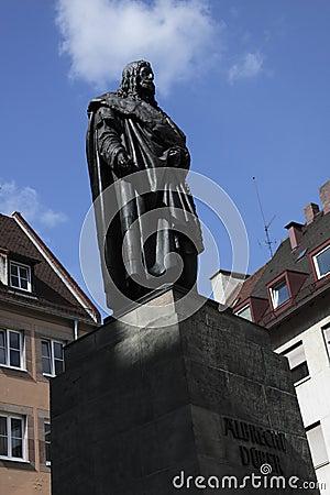 Albrecht Durer statue