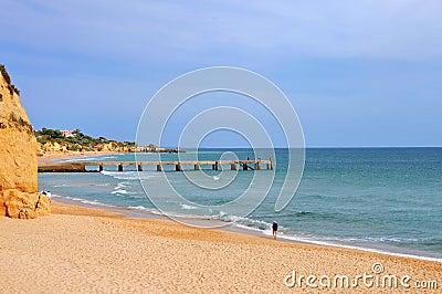 Albufeira waterfront