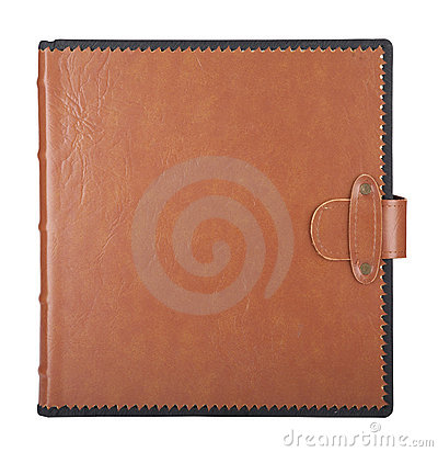 Album in leather cover