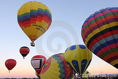Albuquerque Balloon Fiesta Editorial Photo