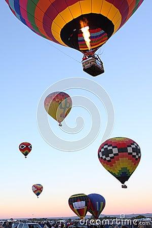 Albuquerque Balloon Fiesta Editorial Stock Image