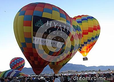 Albuquerque Balloon Fiesta Editorial Photo