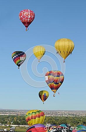 Albuquerque International Balloon Fiesta 2011 Editorial Image