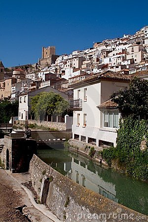 Alcala del Jucar (Albacete) in Spain