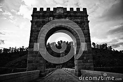 The Alcantara Bridge Arch