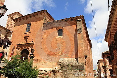 Alcaraz village Albacete Castile La Mancha  Spain