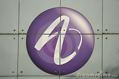 Alcatel-Lucent, Company Logo Editorial Photography