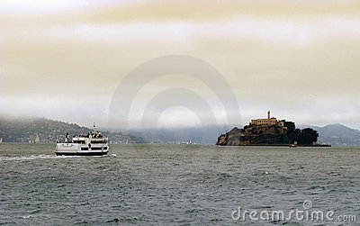 Alcatraz Cruises in San Francisco Editorial Photo