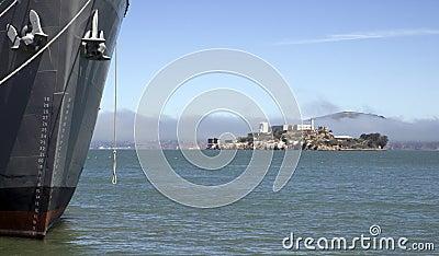 Alcatraz Island Prison Ship Hill Anchor Ocean