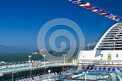 Alcatraz Island, Cruise Ship