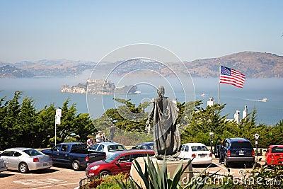 Alcatraz Island San Francisco Editorial Stock Photo
