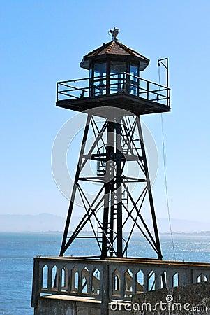 Alcatraz turret