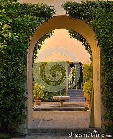 Alcazar archs