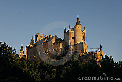 Alcazar, Castle in Segovia, Spain