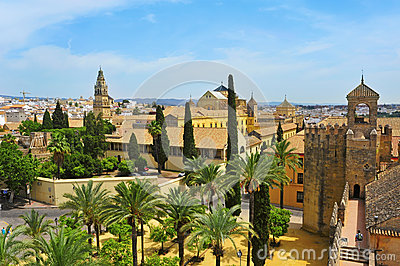 Alcazar and Cathedral Mosque of Cordoba, Spain