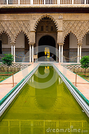 Alcazar palace in Sevilla