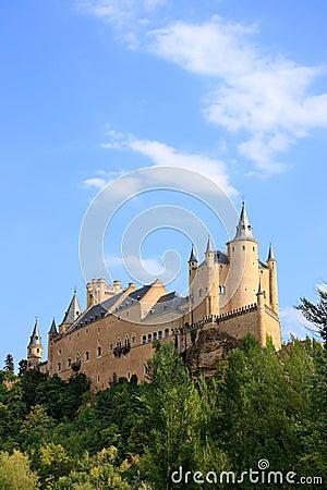 The Alcazar (Segovia, Spain)
