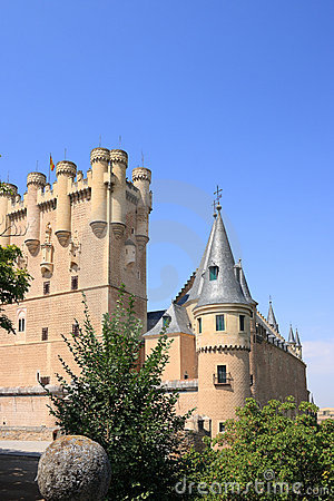 The Alcazar (Segovia, Spain)