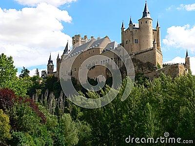 Alcazar, Segovia ( Spain )