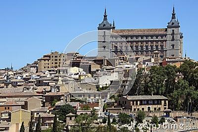 Alcazar - Toledo - Los Angeles Mancha Hiszpania -