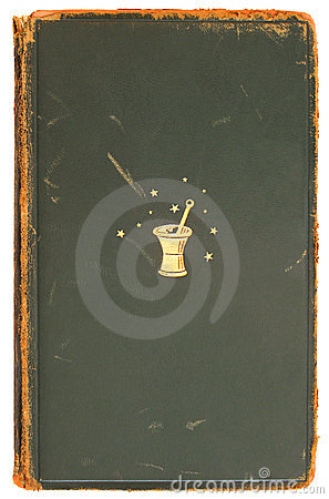 Free Alchemy - Vintage Book Cover 1872 Stock Images - 1954514