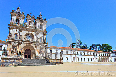 Alcobaca Monastery and Church. Unesco, Portugal