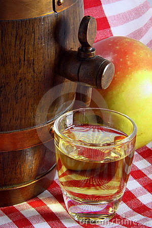 Alcohol of apple