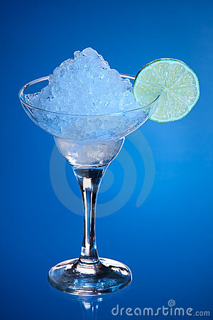 Alcohol with ice