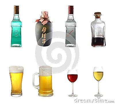 Free Alcohol Mix Royalty Free Stock Photos - 3335208