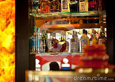 Alcohol shop Editorial Image