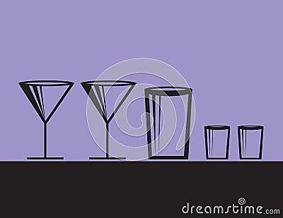 Alcoholic Drinks Modern