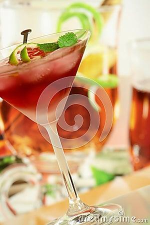 Alcoholic summer recreational drink