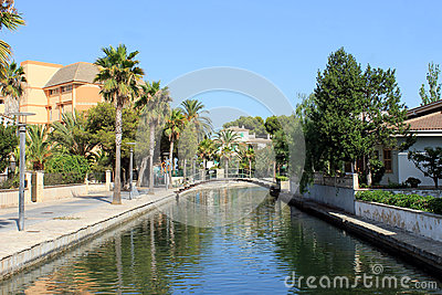 Alcudia canal