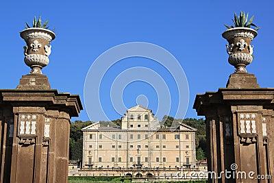 Aldobrandini villa in Frascati (Rome, Italy)