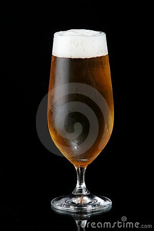 Ale in Glass