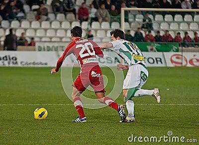 Alejandro Castro From Girona F.C. match league Editorial Stock Photo