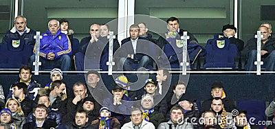 Aleksandr Yaroslavsky and Roman Abramovich Editorial Image
