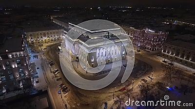 Aleksandrinsky-Theater stock footage