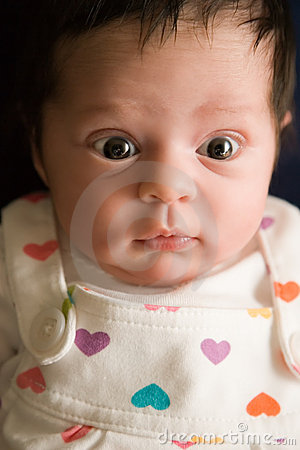 Alert Newborn Baby Infant
