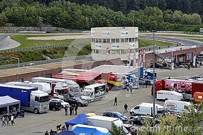 Ales - France - Grand Prix of France trucks May 25th and 26th, 2013 Editorial Photo