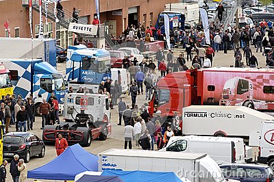 Ales - France - Grand Prix of France trucks May 25th and 26th, 2013 Editorial Image