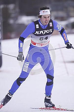 Ales Razym - ski sprint Editorial Image