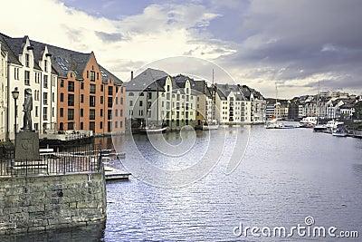 Alesund Inner Harbor