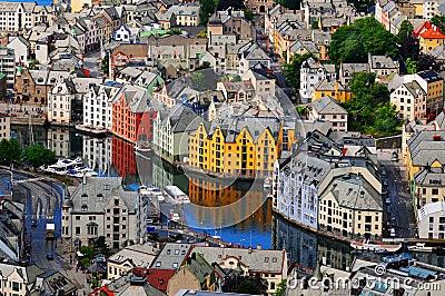 Alesund, Norvège